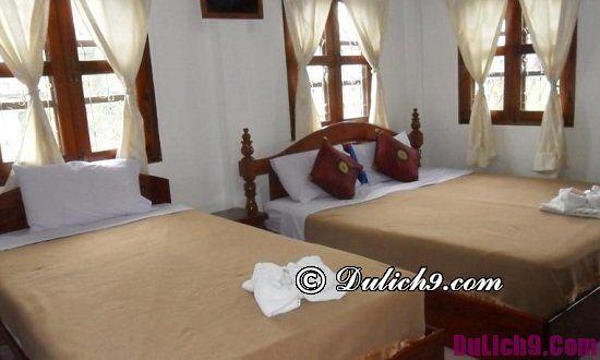 Du lịch Luang Prabang nên ở khách sạn nào giá rẻ, sạch sẽ tốt nhất: Các khách sạn giá rẻ ở trung tâm cố đô Luang Prabang