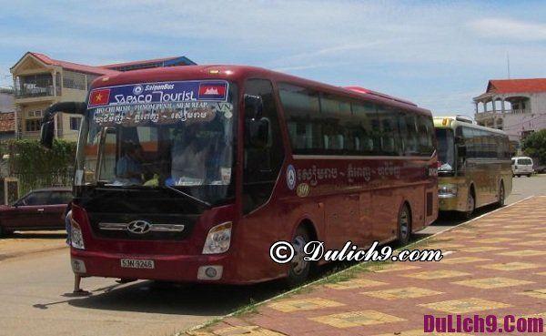 Những hãng xe bus đi Campuchia từ Sài Gòn
