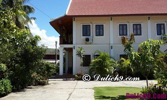 Khách sạn, nhà nghỉ đẹp ở Luang Prabang giá rẻ, tiện nghi: Khách sạn ở Luang Prabang giá bình dân, gần điểm du lịch