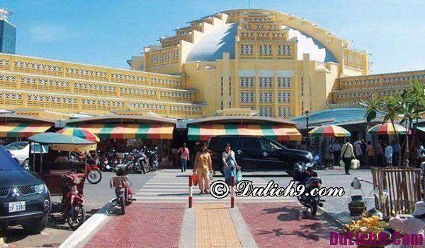 Kinh nghiệm mua sắm ở Campuchia