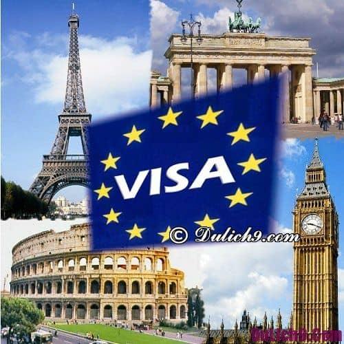 Kinh nghiệm xin visa Ba Lan