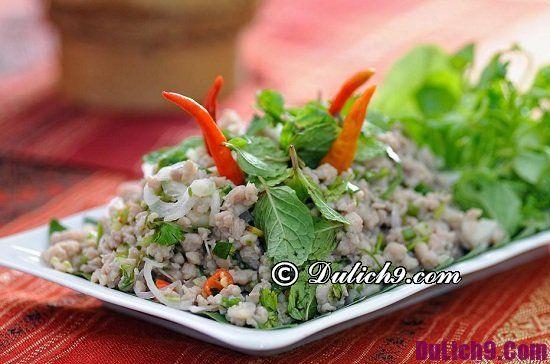 Nên ăn món gì khi đến Lào du lịch: Món ăn ngon nổi tiếng ở Lào
