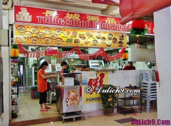 Du lịch Singapore ăn cháo ếch ở đâu ngon?