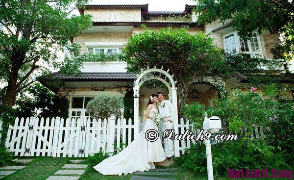 Địa điểm chụp ảnh cưới miễn phí ở Sài Gòn