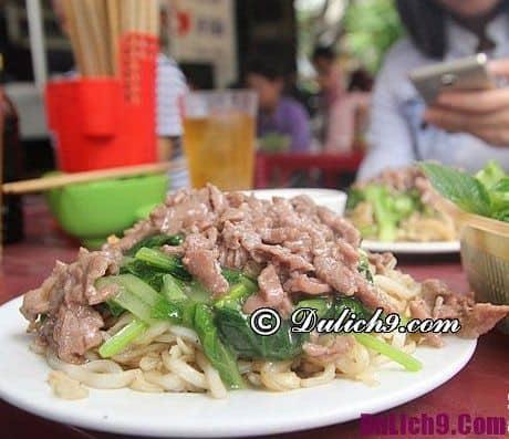 Những quán ăn đêm ngon ở Hà Nội