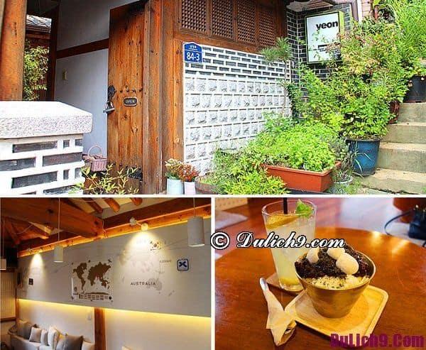 Những quán cafe đẹp ở thủ đô Seoul