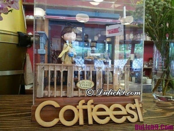 Quán cafe nổi tiếng ở Seoul