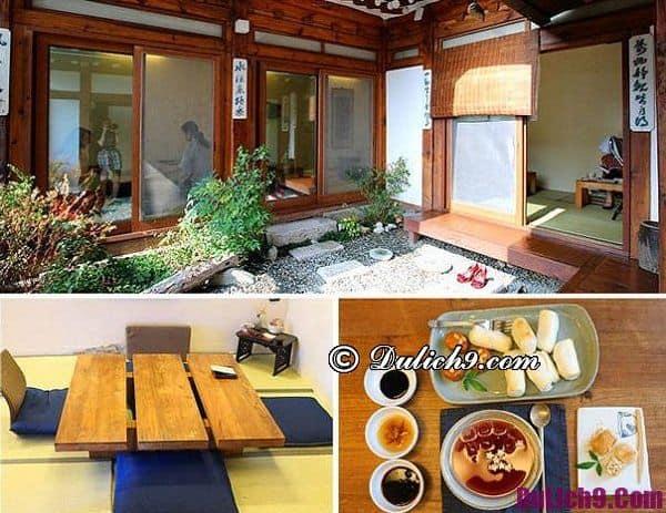 Quán cà phê truyền thống ở Seou