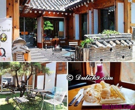 Quán cafe nổi tiếng ở Seoul. Nên đi đâu uống cafe khi du lịch Seoul?