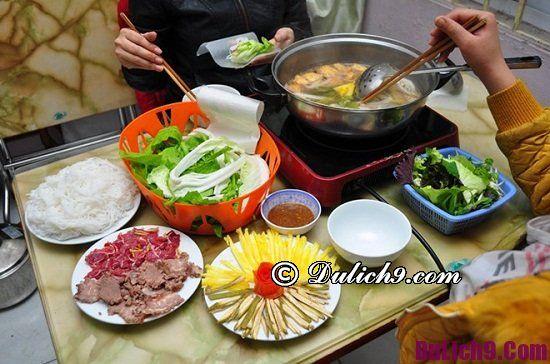 Địa chỉ ăn lẩu bò nhúng giấm ngon ở Hà Nội
