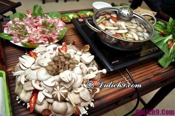 Các quán lẩu nấm đắt khách tại Hà Nội