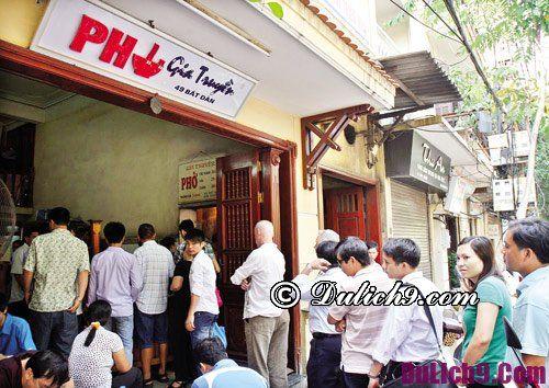 Quán ăn ngon ở phố cổ Hà Nội