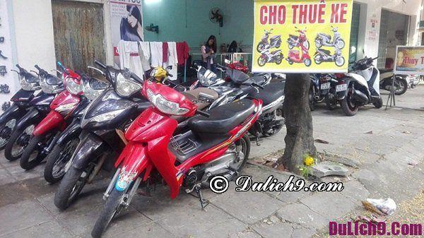 Kinh nghiệm thuê xe máy ở Sài Gòn