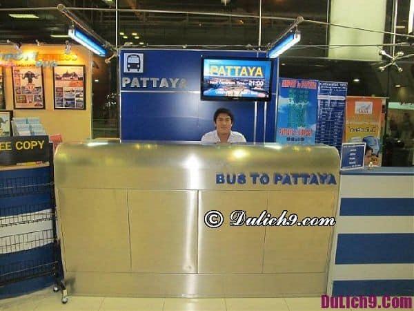 Kinh nghiệm đi từ sân bay Don Muang tới Pattaya
