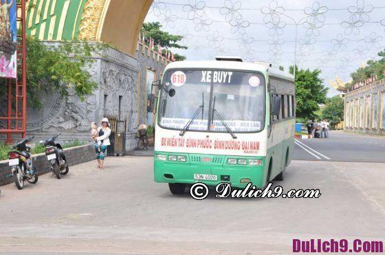 Cách đi tới khu du lịch Đại Nam bằng xe bus