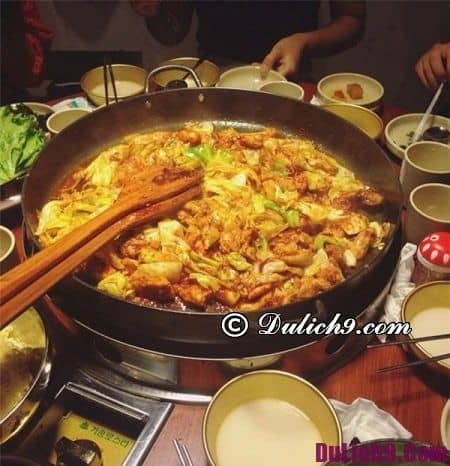 Du lịch đảo Nami ăn gì ngon? Nên ăn đặc sản gì và ăn ở đâu khi đi du lịch đảo Nami Hàn Quốc