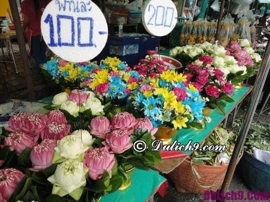 Những khu chợ đêm ở Bangkok: Địa chỉ mua sắm ban đêm ở Bangkok