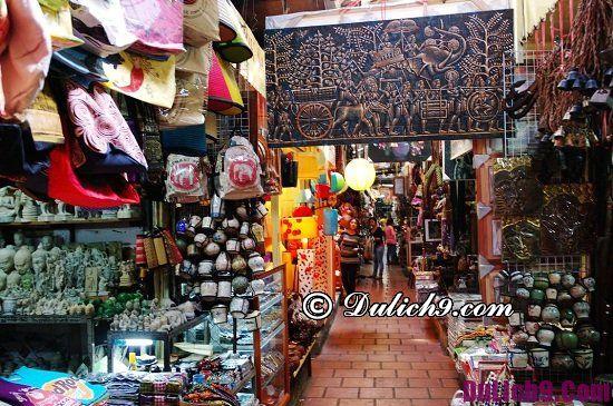 Chợ nào ở Phnom Penh nên tới mua sắm: Khu mua sắm giá rẻ ở Phnom Penh