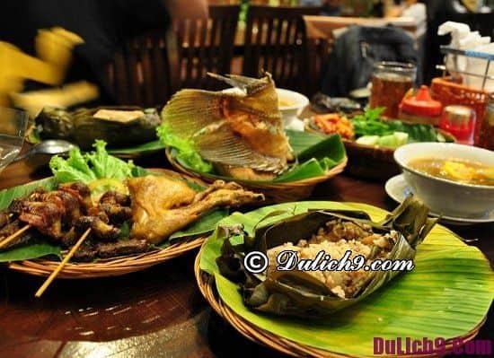 Địa chỉ các quán ăn ngon giá rẻ ở Jakarta, Indonesia: Ăn đặc sản Indonesia ở đâu tại Jakarta