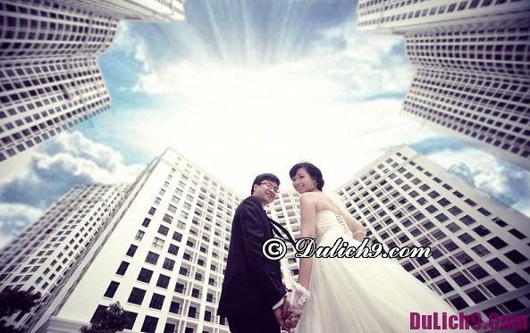 Chụp ảnh cưới ở Hà Nội chỗ nào đẹp nhất: Những địa điểm chụp ảnh cưới miễn phí, độc đáo ở Hà Nội