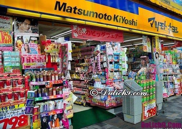 Du lịch Tokyo nên mua quà ở đâu? Nơi mua sắm nổi tiếng ở Tokyo