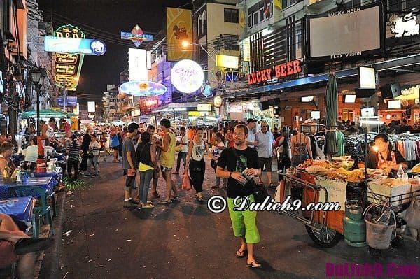 Mua sắm ở chợ đêm Bangkok: Chợ đêm nào nổi tiếng ở Bangkok