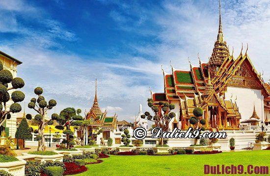Địa điểm du lịch đẹp và nổi tiếng ở Thái Lan: Du lịch Thái Lan nên đi đâu chơi?