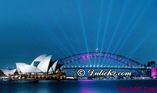 Địa điểm du lịch nổi tiếng nhất ở Australia - Úc: Danh lam thắng cảnh Úc cực đẹp