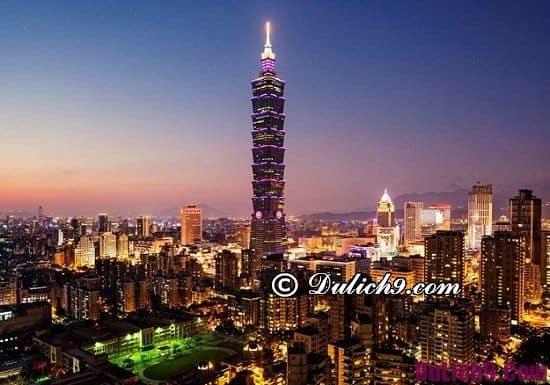 Địa điểm ngắm cảnh, chụp ảnh đẹp nhất ở Đài Loan: Đi đâu chơi khi đến Đài Loan du lịch