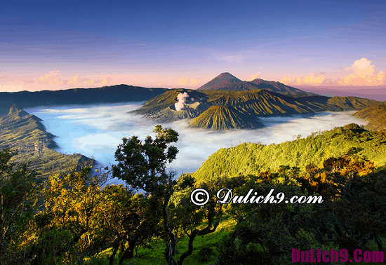 Địa điểm tham quan du lịch hấp dẫn ở Indonesia: Nơi ngắm cảnh, chụp ảnh đẹp nhất ở Indonesia
