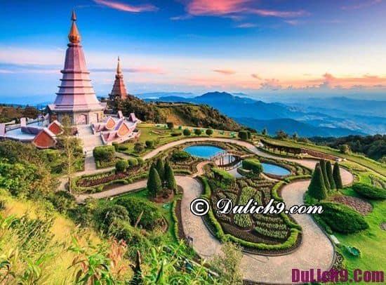 Địa điểm tham quan du lịch hấp dẫn ở Thái Lan: Nơi ngắm cảnh, chụp ảnh đẹp ở Thái Lan