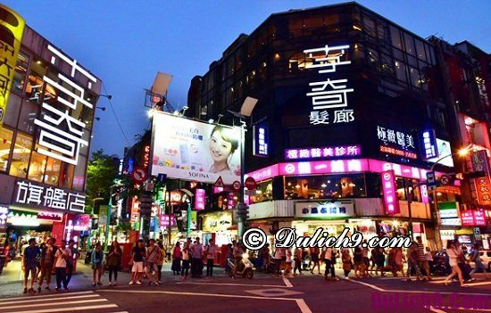 Địa điểm tham quan mua sắm nổi tiếng ở Đài Loan: Nên đi chơi ở đâu khi đến Đài Loan du lịch