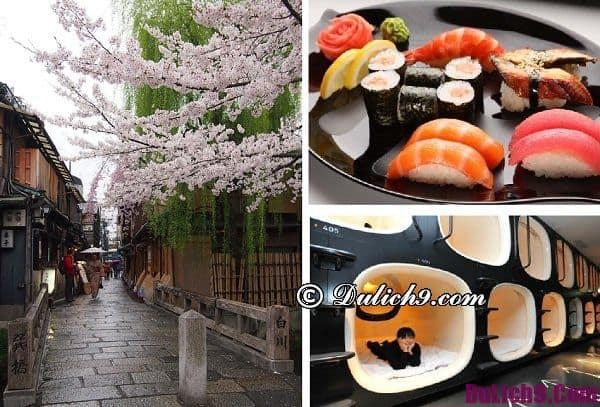 Chi phí du lịch Nhật Bản - Ăn, ở, mua sắm & tham quan: Du lịch Nhật Bản càn bao nhiêu tiền?
