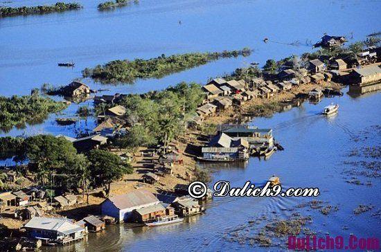 Địa điểm tham quan vui chơi hấp dẫn ở Campuchia: Nơi ngắm cảnh, chụp ảnh ở Campuchia