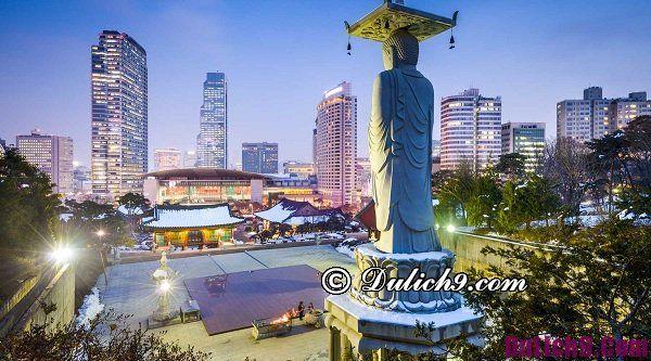 Địa điểm vui chơi về đêm đẹp ở Seoul: Những nơi vui chơi buổi tối nổi tiếng ở Seoul