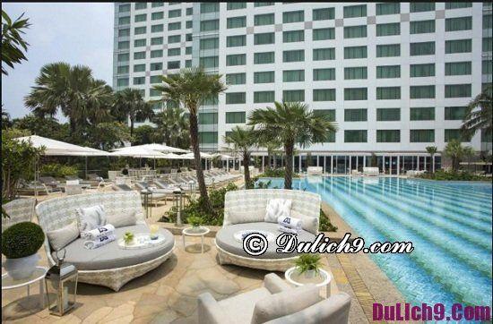 Khách sạn cao cấp, tiện nghi đầy đủ ở Jakarta, Indonesia: Khách sạn chất lượng cao ở Jakarta nên ở