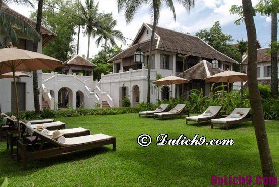 Khách sạn cao cấp tiện nghi ở Luang Prabang nên tới nghỉ dưỡng: Du lịch Luang Prabang nên ở khách sạn sang trọng nào?
