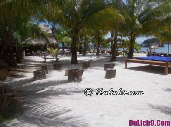 Khách sạn giá rẻ ở đảo Koh Rong view đẹp, tiện nghi: Khách sạn bình dân ven biển ở đảo Koh Rong giá tốt, sạch sẽ