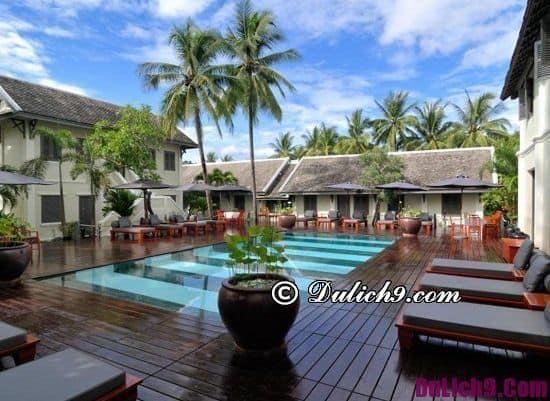 Khách sạn, resort cao cấp sạch đẹp ở trung tâm Luang Prabang: Khách sạn, resort cao cấp, tiện nghi ở Luang Prabang