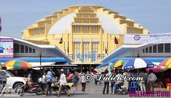 Kinh nghiệm mua sắm giá rẻ ở Phnom Penh, Campuchia: Du lịch Phnom Penh nên mua sắm ở đâu?