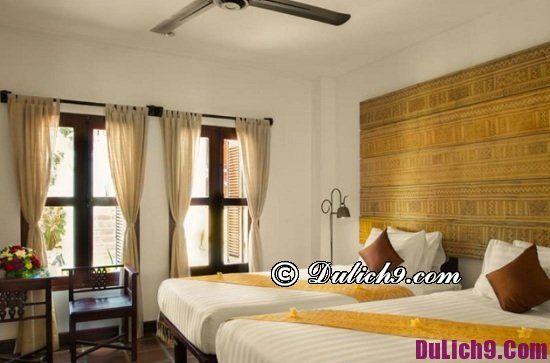 Luang Prabang có khách sạn nào sạch đẹp, tiện nghi đầy đủ: Khách sạn đẳng cấp sang trọng ở trung tâm Luang Prabang