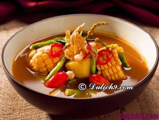 Món ăn ngon đặc sản nổi tiếng ở Indonesia: Du lịch Indonesia ăn món gì ngon?