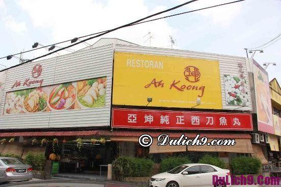 Nhà hàng nổi tiếng ở Kuala Lumpur: Địa điểm ăn uống ngon bổ rẻ ở Kuala Lumpur