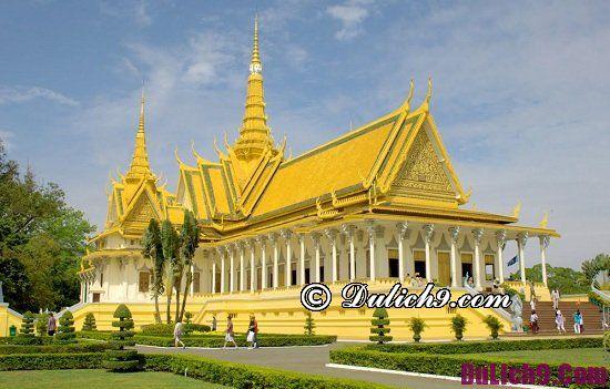 Nơi tham quan vui chơi nổi tiếng ở Campuchia: Địa điểm du lịch hấp dẫn tại Campuchia