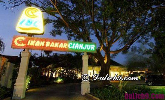 Quán ăn ngon nổi tiếng ở Jakarta, Indonesia: Địa điểm ăn uống ở thủ đô Jakarta, Indonesia giá rẻ, ngon