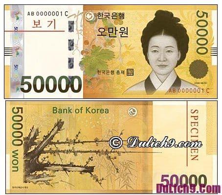 Kinh nghiệm đổi tiền Hàn Quốc khi du lịch: Đổi tiền Hàn Quốc ở đâu? Cách phân biệt tiền thật, giả Hàn Quốc