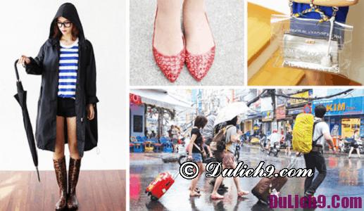 Kinh nghiệm du lịch Đà Nẵng mùa mưa: Du lịch Đà Nẵng vào mùa mưa nên chuẩn bị những gì?