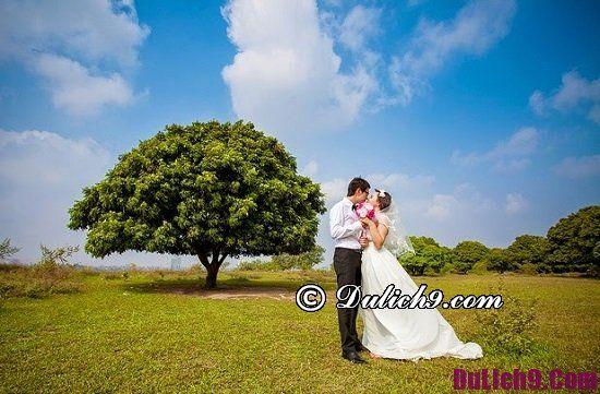 Chụp ảnh cưới ở Hà Nội rẻ và đẹp: Tổng hợp phim trường chụp hình cưới nổi tiếng tại Hà Nội