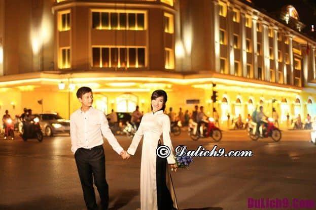 Địa điểm chụp ảnh cưới lý tưởng ở Hà Nội: Hà Nội có địa điểm nào chụp ảnh cưới miễn phí, đẹp và lãng mạn