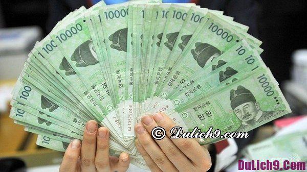 Địa chỉ đổi tiền Hàn Quốc: Tỷ giá chênh lệch giữa tiền VND và tiền Won